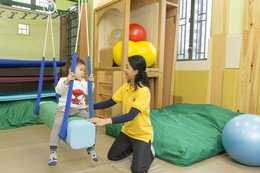 The sensory integration therapy room