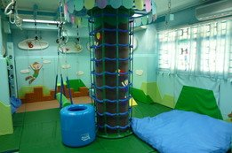 Sensory Ingratiation Room:For the enhancement of children's body coordination, organization and motor planning