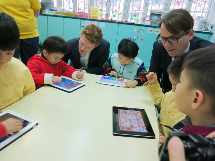 iPads from Clifford Chance Benefit Heep Hong Children