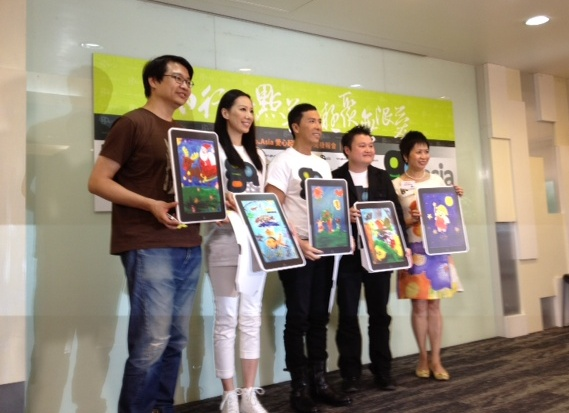 Go.Asia Founders Visited and Donated Tablets to Heep Hong Society