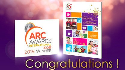 Heep Hong Society Annual Report 2017-2018 Wins Bronze Award at International ARC Awards