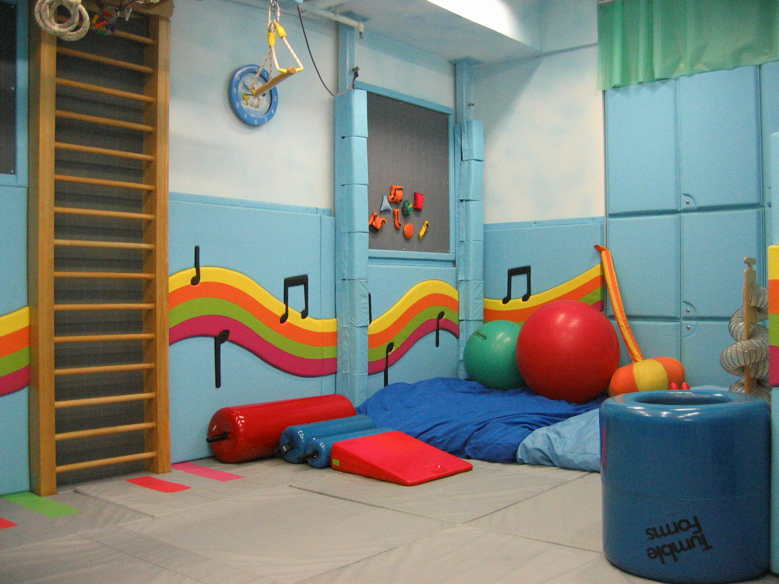 Cute sensory room Great ideas to add to his room under the chair